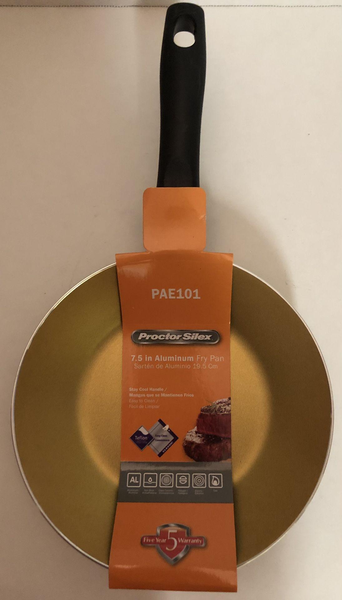 "🙋♀️ Proctor Silex Gold Aluminum Pan - 7.5"""