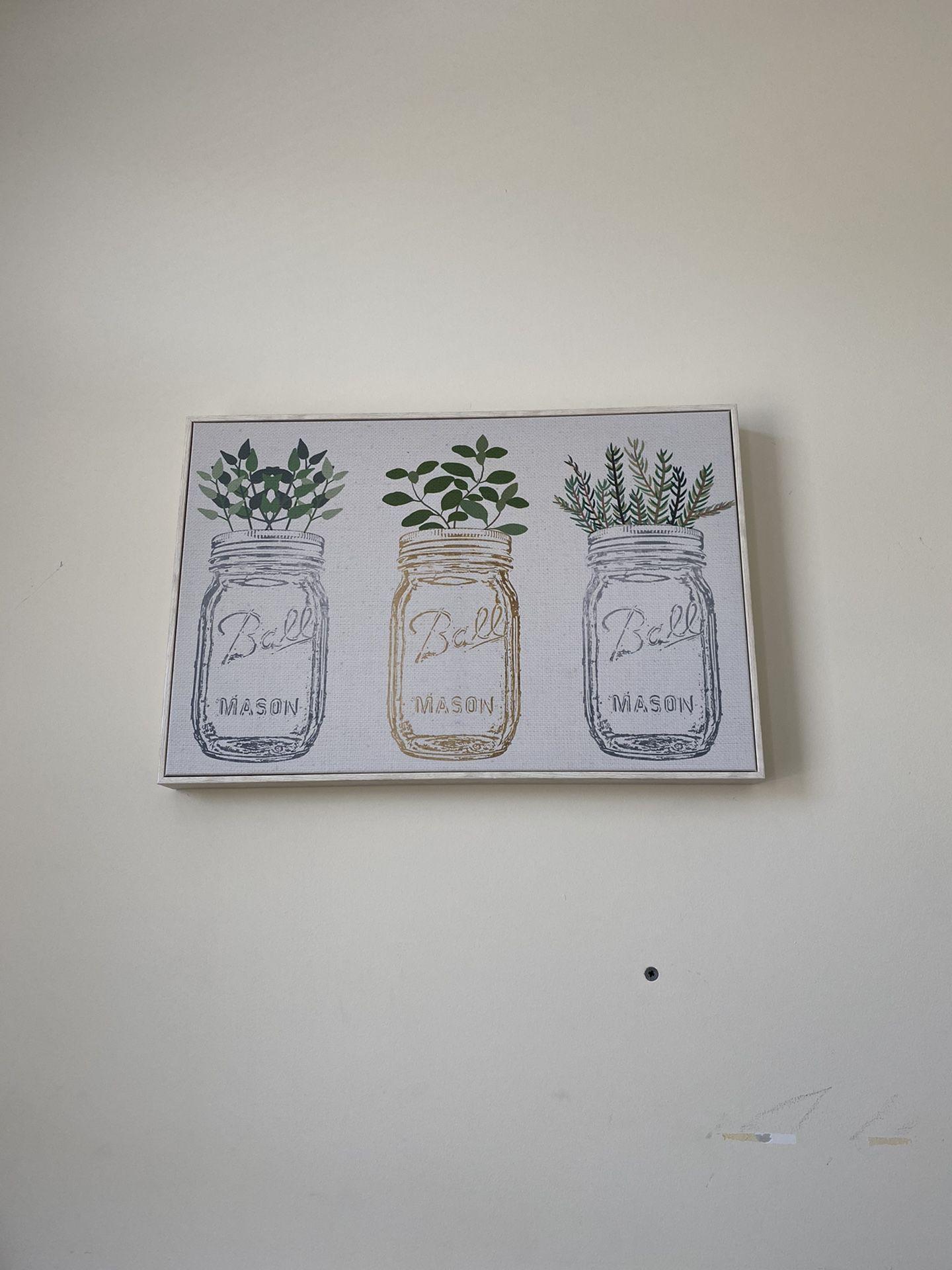 Mason Jar Canvas