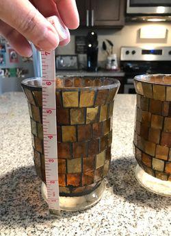 Decorative candle holder or vase Thumbnail