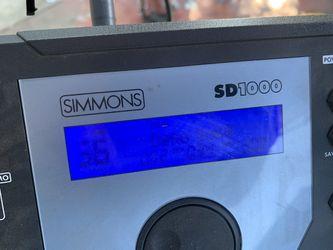 "Simmons ""  SD1000 Thumbnail"