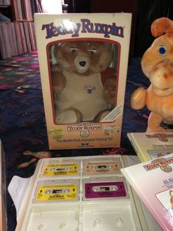 Worlds of wonder Teddy ruxpin and grubby toys Thumbnail