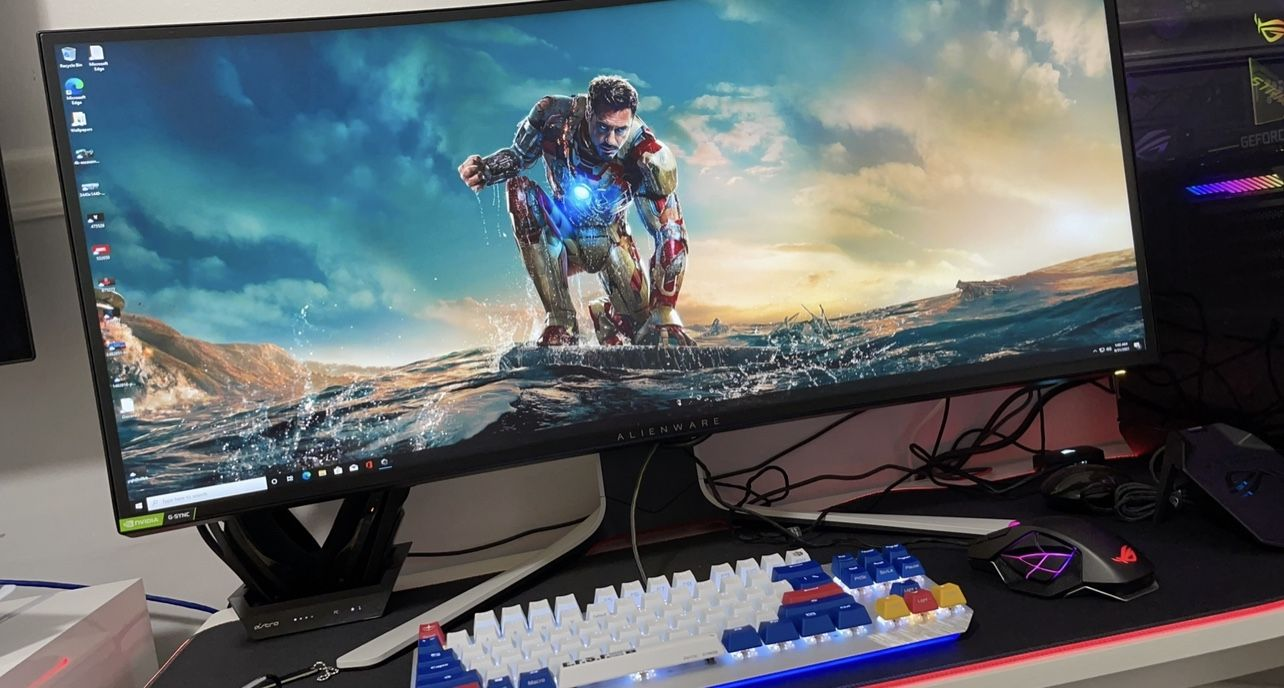 """Dell Alienware 34"""" Curved Gaming Monitor - AW3420DW"""