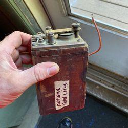 Antique Ford coil Thumbnail
