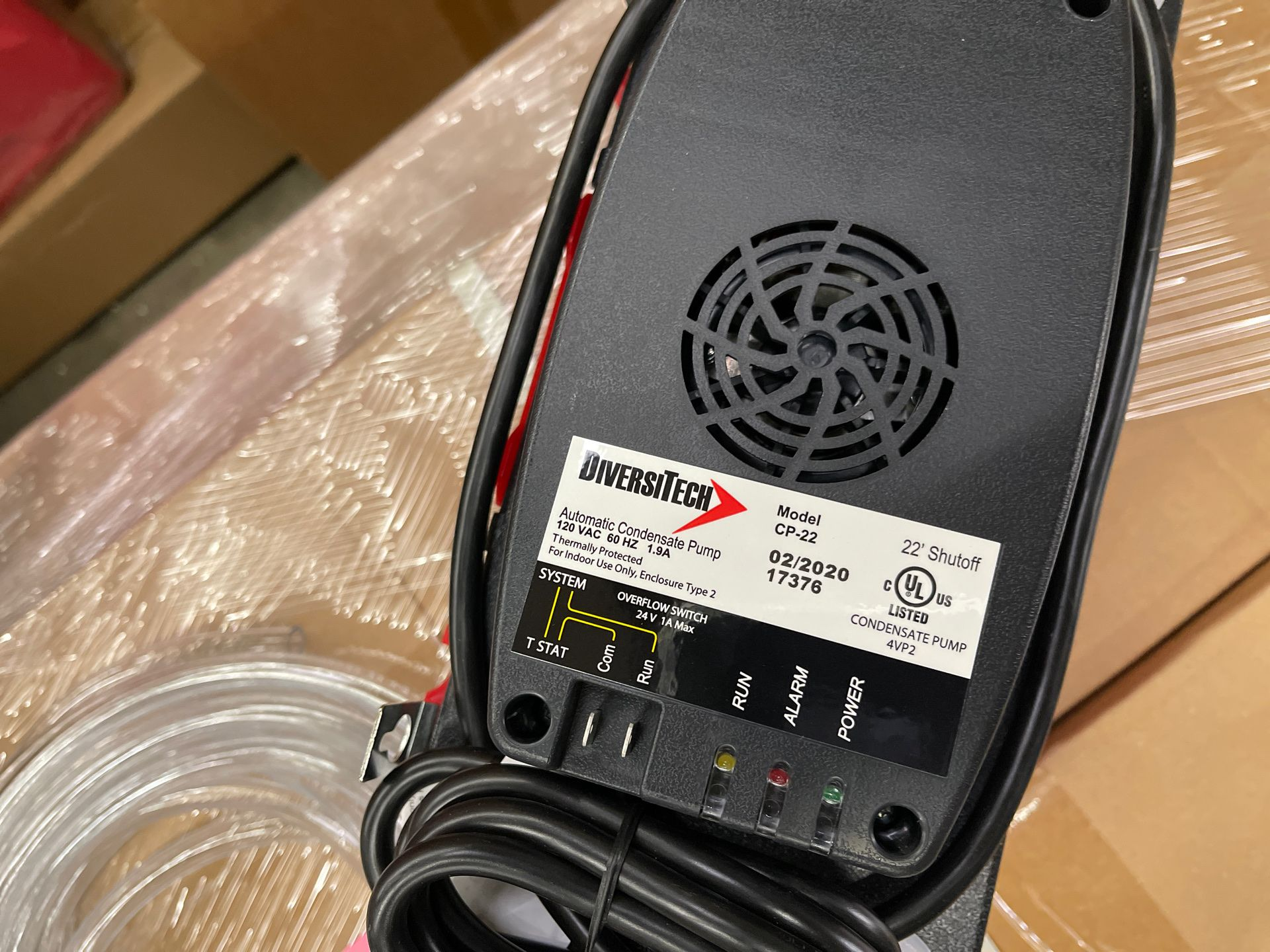 CP-22T HVAC ac Dehumidifier condensate pump with 20 feet hose lift 22ft
