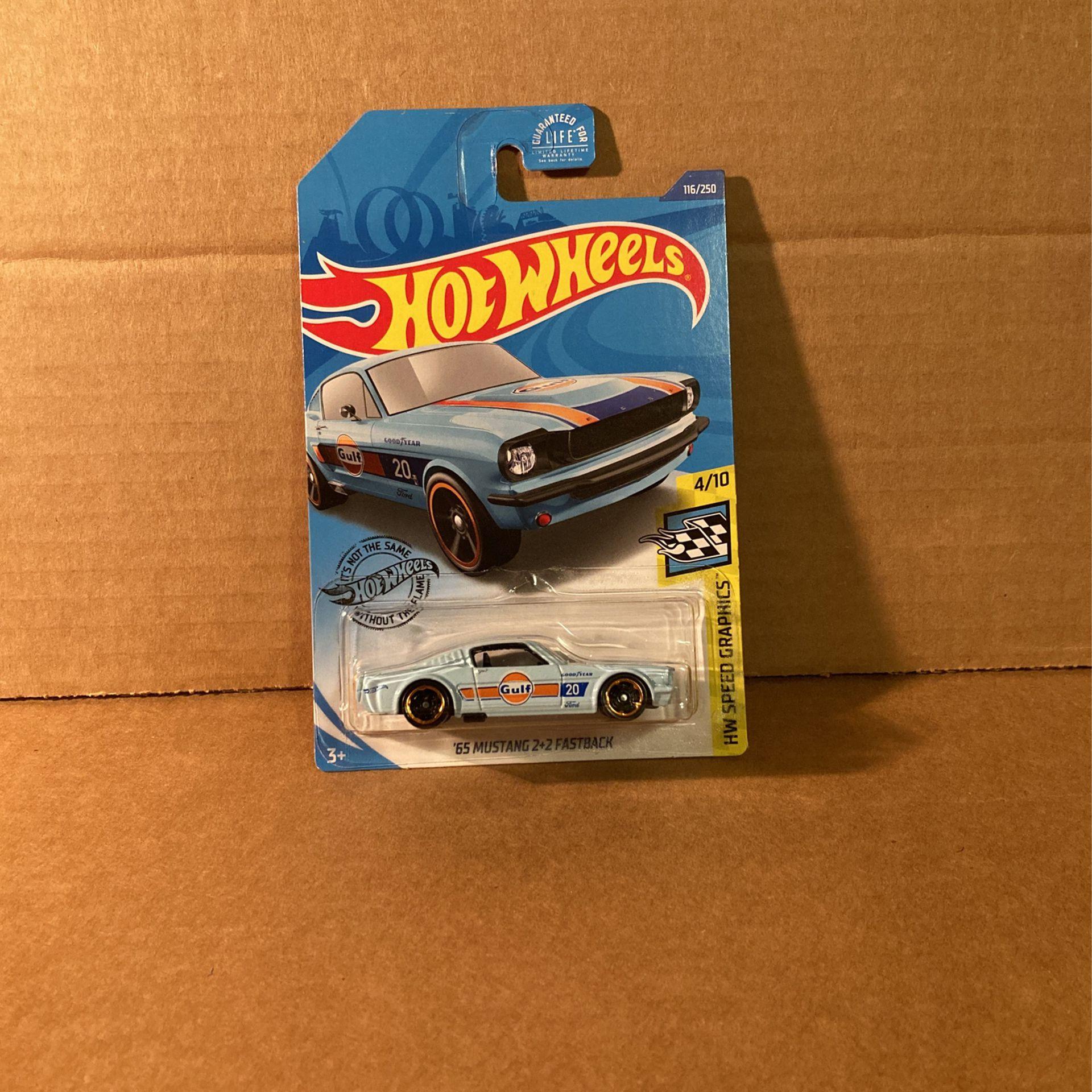 Hot Wheels '65 Mustang 2+2 Fastback