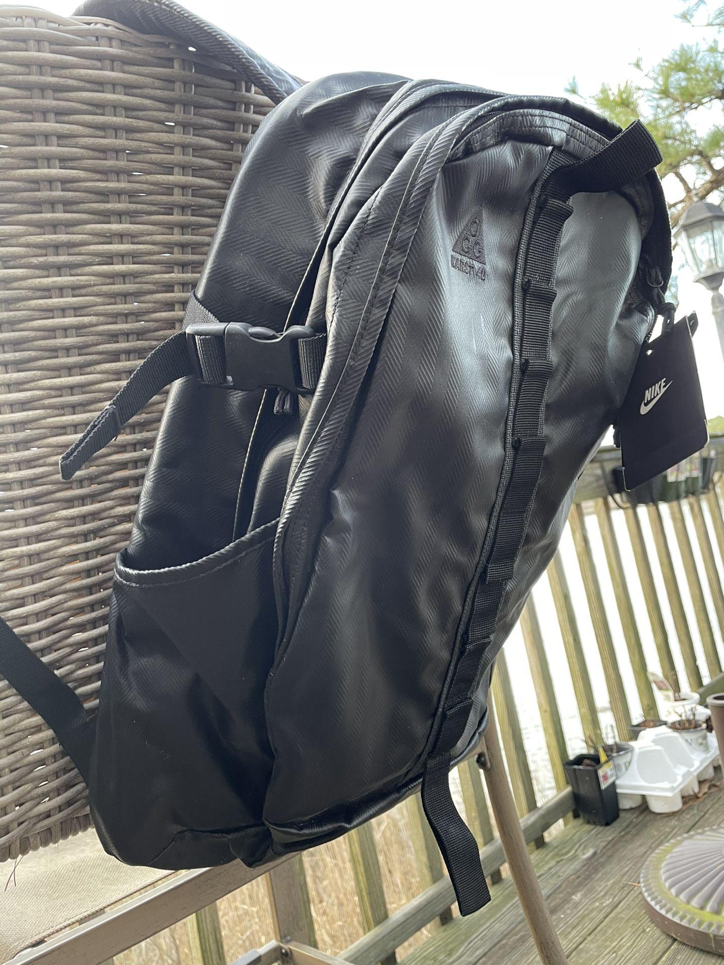 New/never Used - Black Nike Backpack