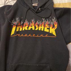 THRASHER HOODIE $15               Adult Small Thumbnail