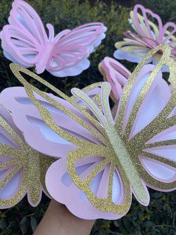 3D Large Butterflies  Thumbnail