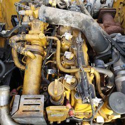 Caterpillar C3.3B Engine CAT KUBOTA  Skid steer Wheel Loader Track COMPLETE GOOD 242d 262d 259d 249d 246d 257d  Thumbnail
