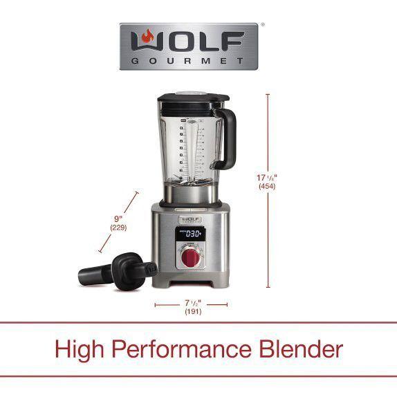 Wolf high performance blender