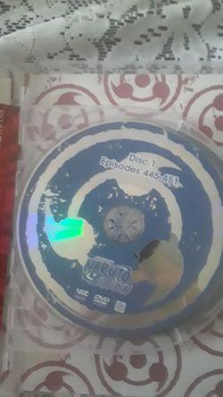 Naruto shippuden 35 DVD set thirty five episodes 445-458 original &uncut Thumbnail