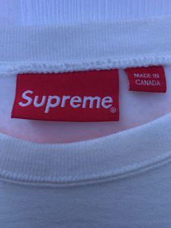 Supreme X Independent White Crewneck Thumbnail