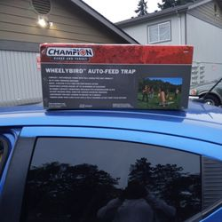 Champion Wheely Bird Auto-Feed Trap $75 Right Now Thumbnail