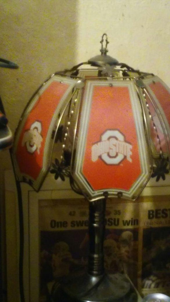 Ohio state desk lamp...
