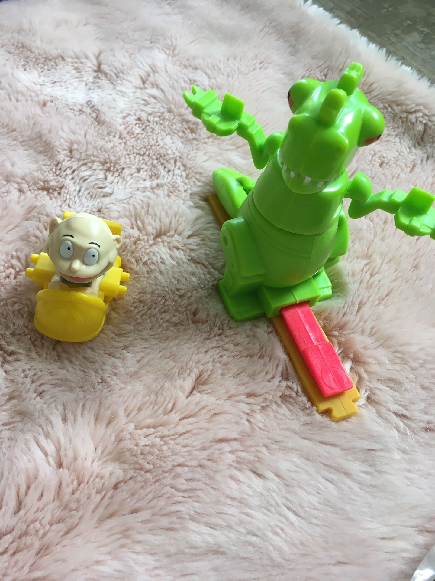 '00 Burger King Nickelodeon Rugrats toys