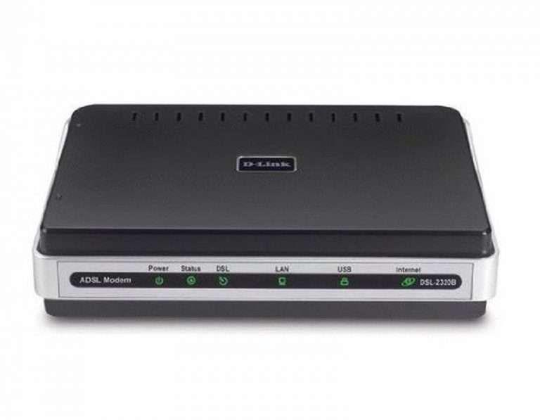 D-Link Dsl-2320B Adsl2/2+ Usb Ethernet Modem
