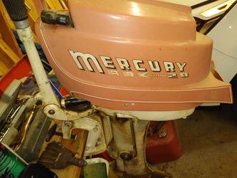 Vintage1957 Mercury outboard motor Thumbnail