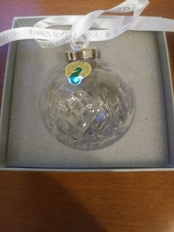 New Waterford crystal ornament Thumbnail