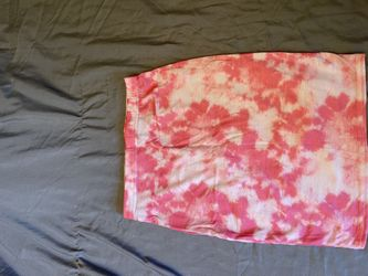 pink tie dye pencil skirt never worn Thumbnail