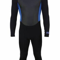 U.S. Divers 3.2mm Adult Full Wetsuit, Black/Blue Thumbnail
