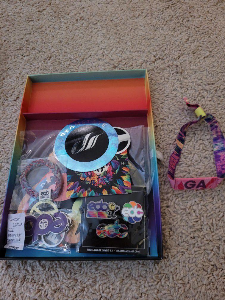 EDC Las Vegas 2021 GA Package + Wristband