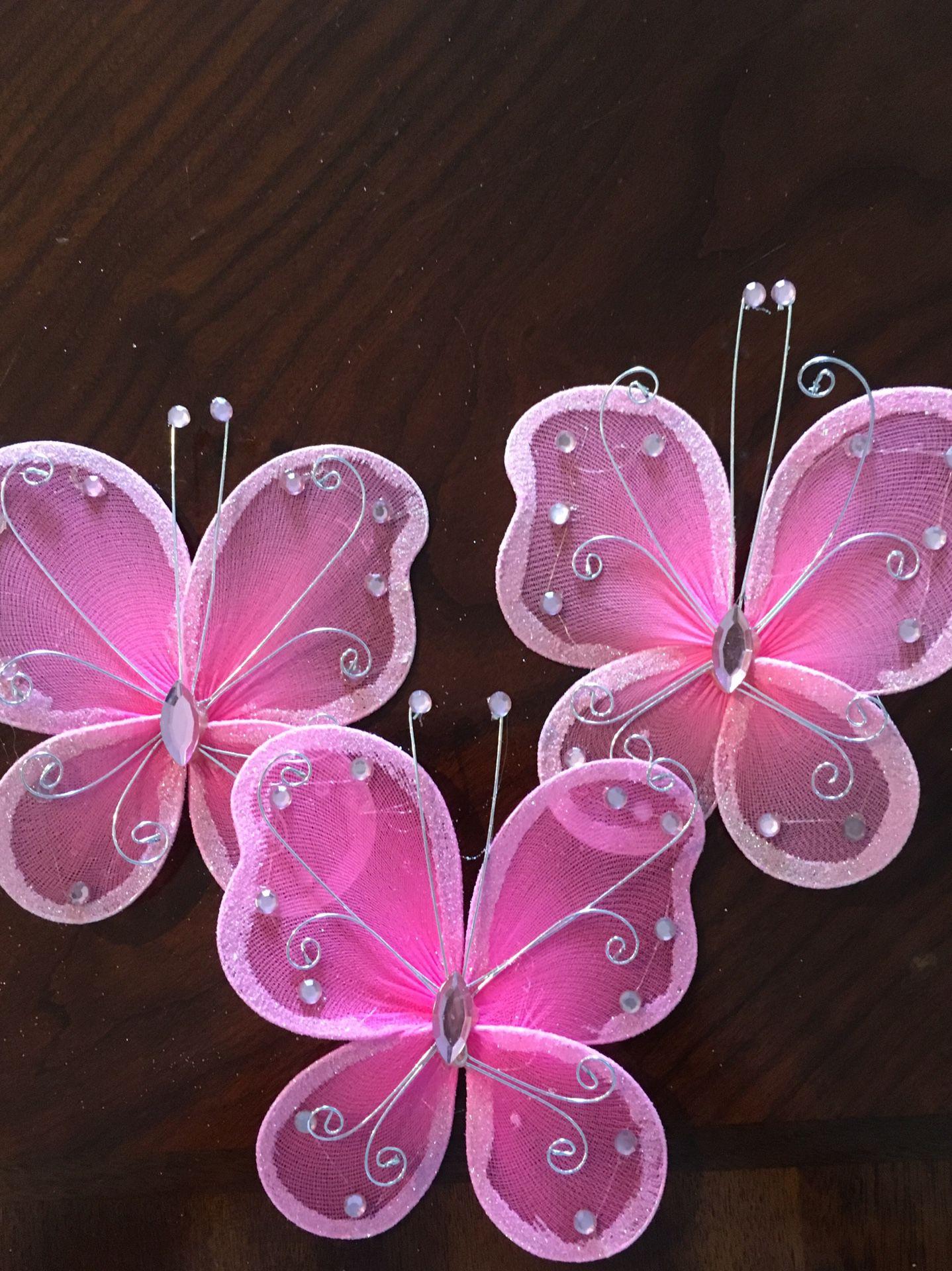 Birthday Butterflies Decorations
