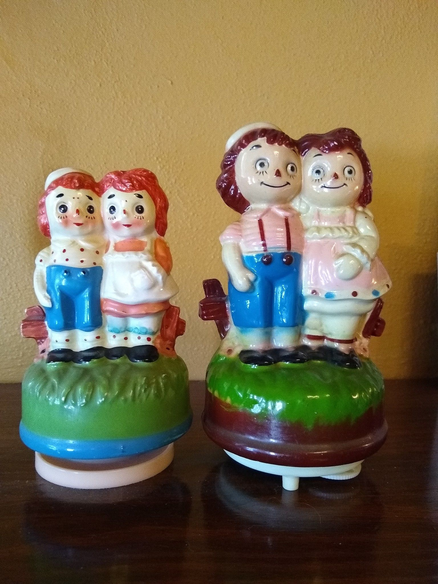 Raggedy Ann and Andy Radio and Music Box