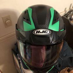 Size medium Snowmobile Helmet and kids size 10 Pants . Thumbnail