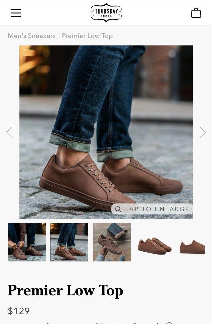 Men's Sneakers ~Thursday Boot Co.™ ~ NEW IN BOX!!!