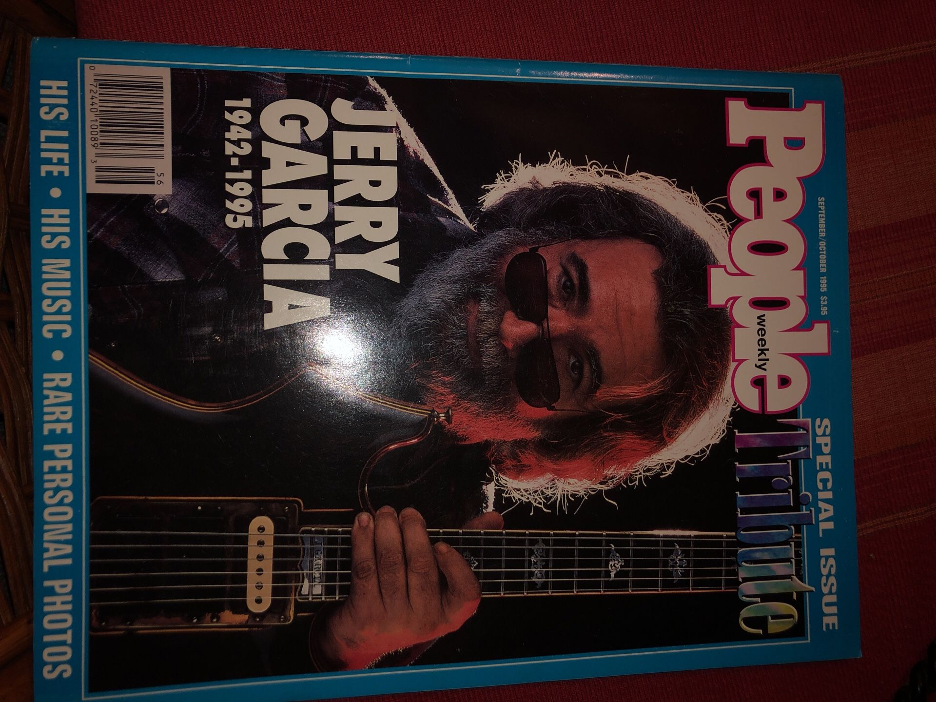 Brand new peoples magazine of jerry Garcia collection for 20$ brand new and worth a lot