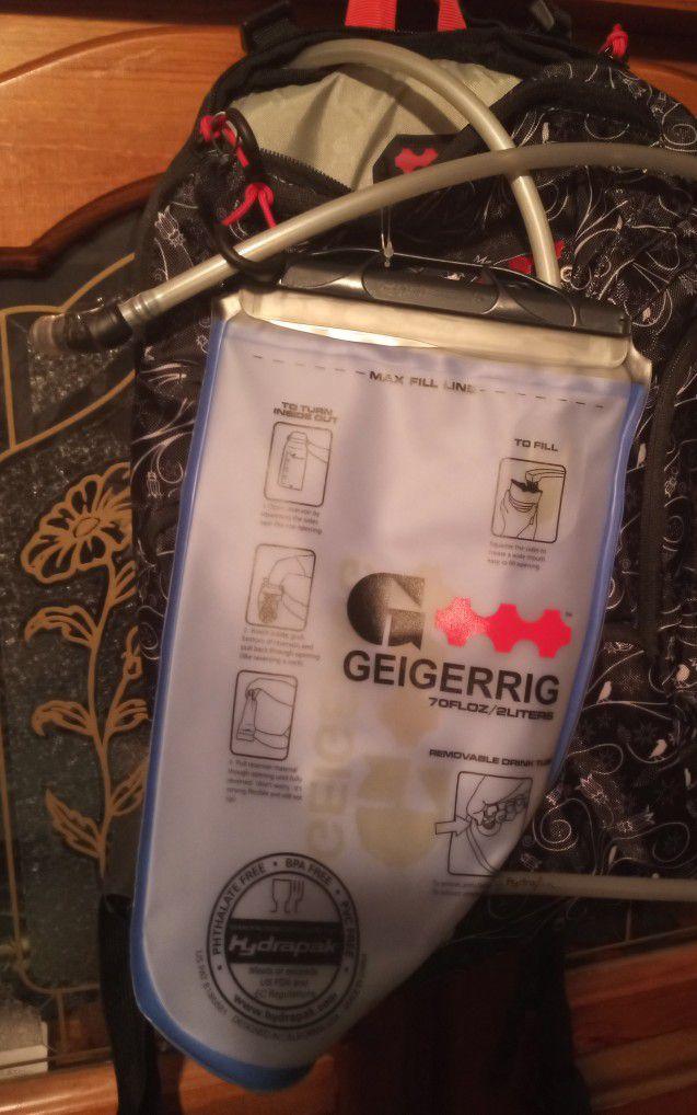Geigerrig Hydration Back Pack
