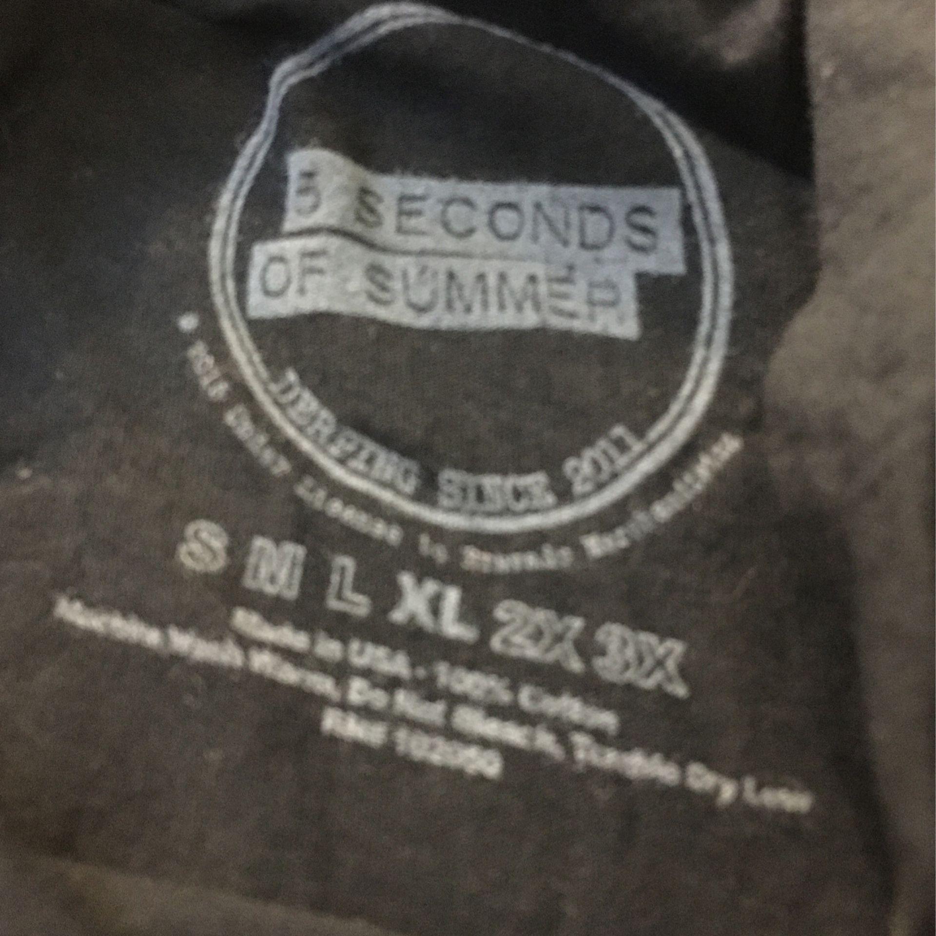 5 Seconds Of Summer Sleeveless Shirt