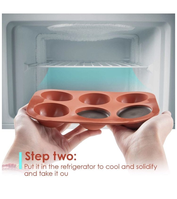 Silicone chocolate Mold with Happy Birthday Cake Decorations Symbols and Valentine Candy Chocolate Making Mold (2pcs) (2, Deep Brown) Brand new