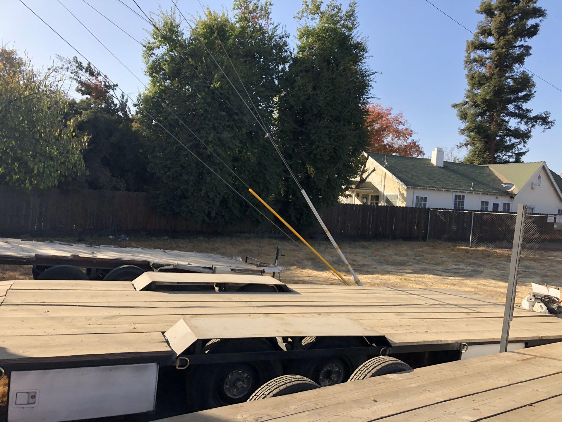 Heavy duty hauler with 12k winch