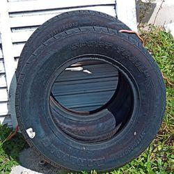 Carlisle 13 Inch Trailer Tires New $50 For Both Thumbnail
