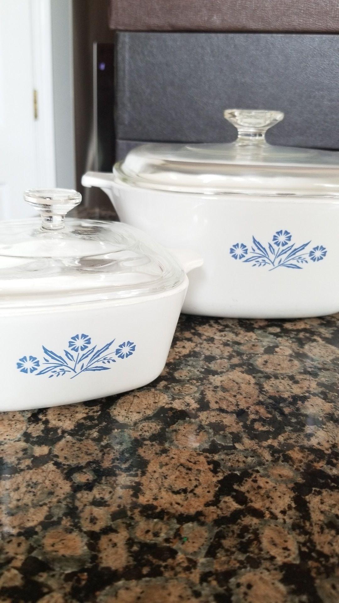 2-piece Corningware set