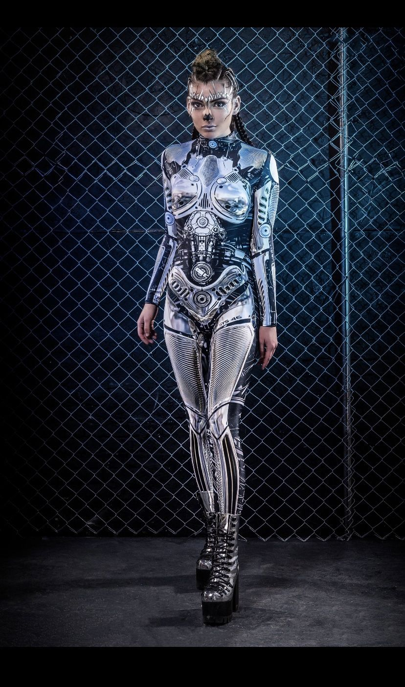Handmade: Robot Womens Costume