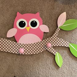 Owl Decor (hang Rack) Thumbnail