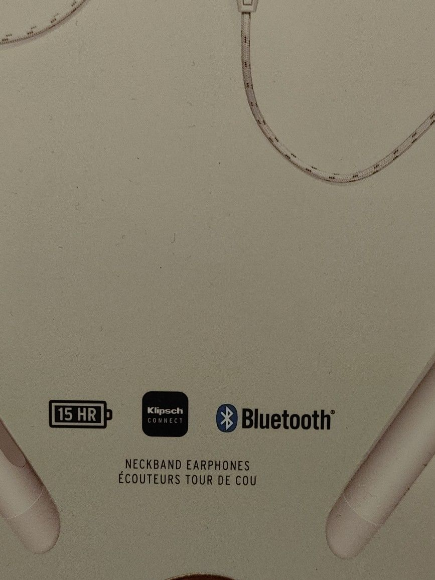 Klipsch T5 Wireless Neckband In-Ear Headphones