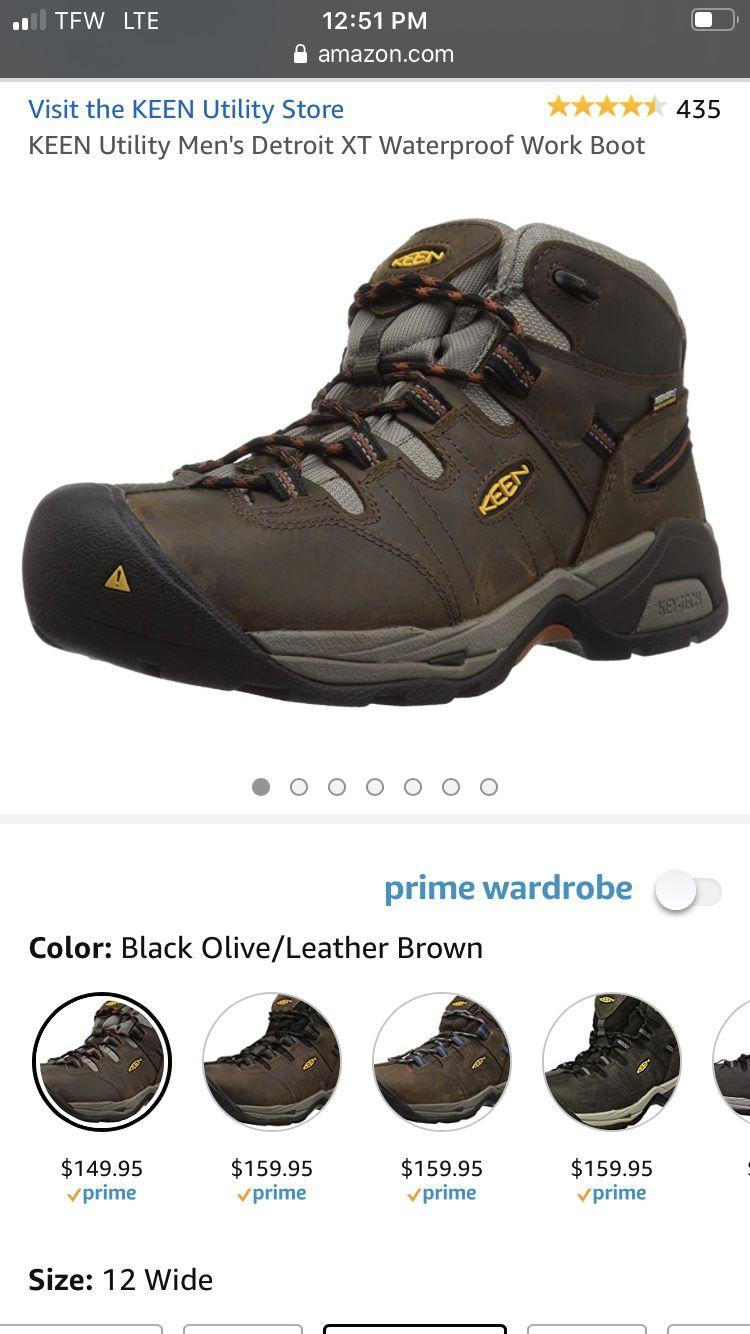 Keen work boots 12ee