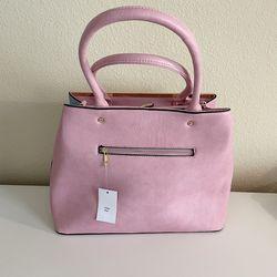 Womens Tote Bag Purse 2 Ways Pink  Thumbnail