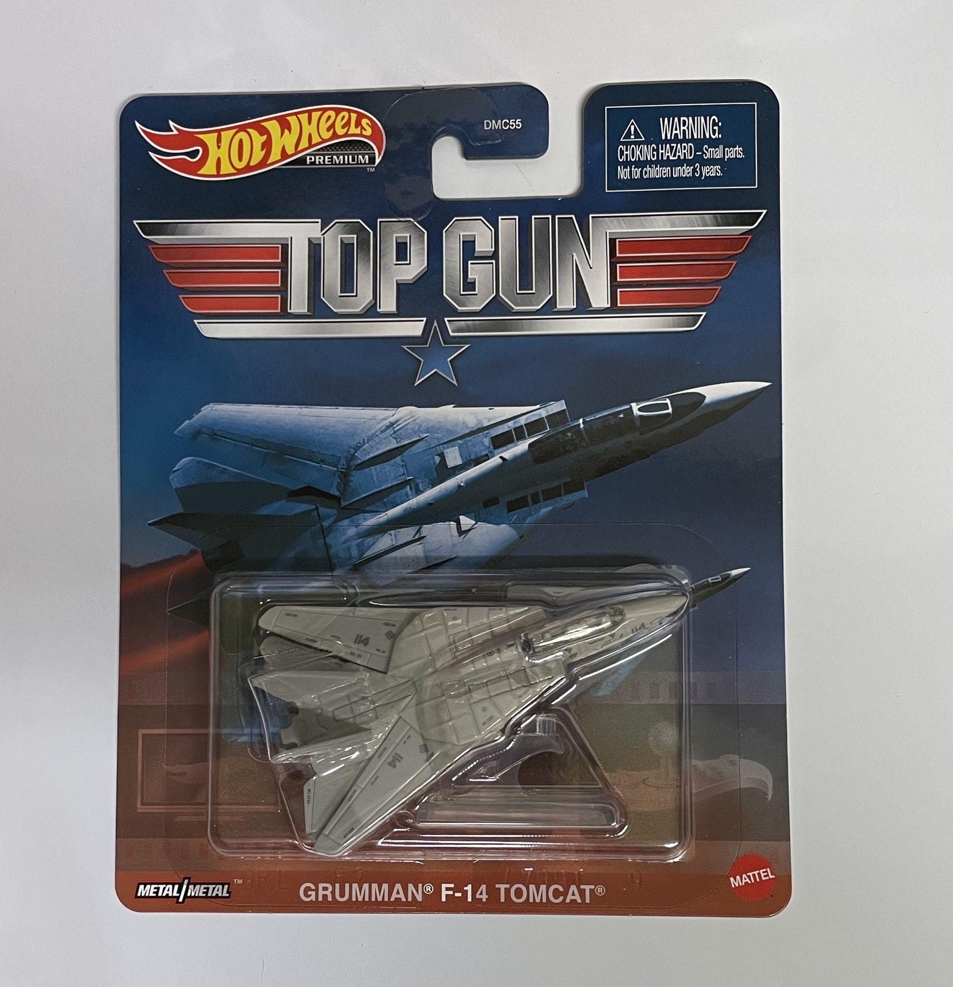 Hot Wheels Premium Top Gun Grumman F-14 Tomcat