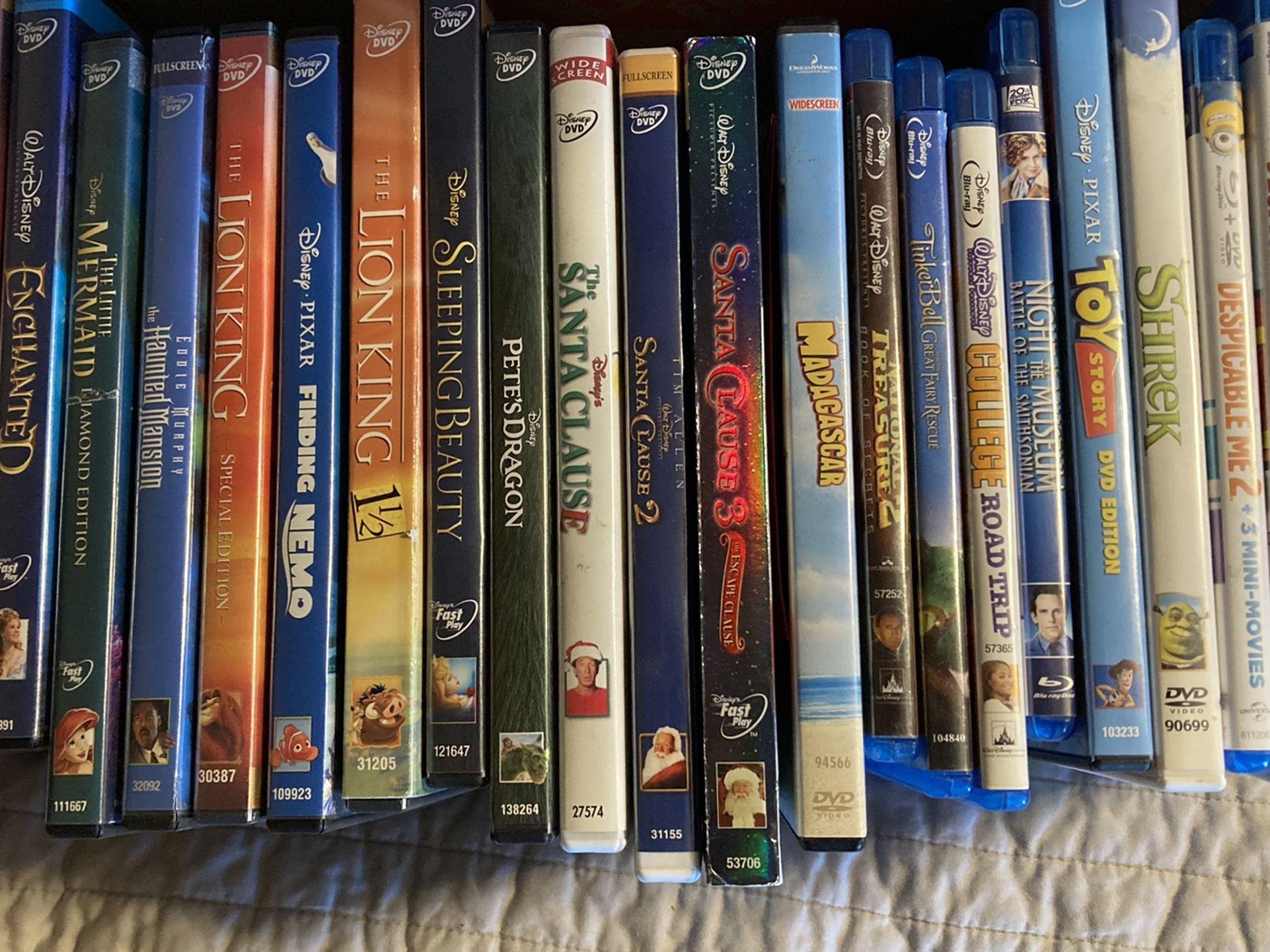 Bundle of Disney Movies For Sale