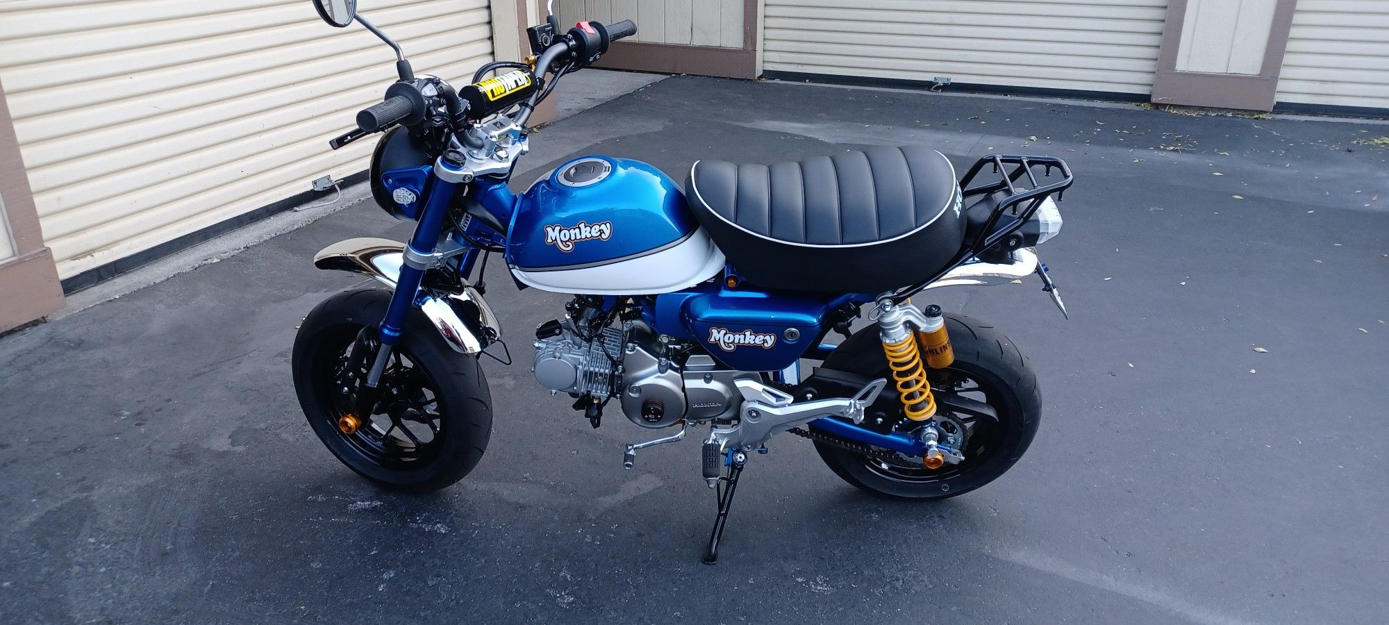 Honda Monkey Powercomander 5 And Auto Tune And A Air Intake Only Not A Bike