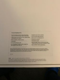 MacBook Pro 13 inch 2020 Thumbnail