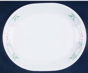 **Island Breeze Corelle by Corning Serving Platter — Used/Very Good Condition** Thumbnail