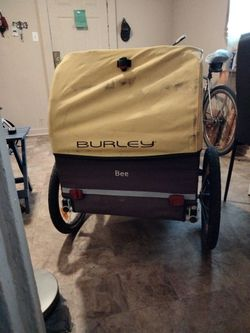 BURLEY (BEE) Bicycle Trailer The Biggest One Burley Offers Thumbnail