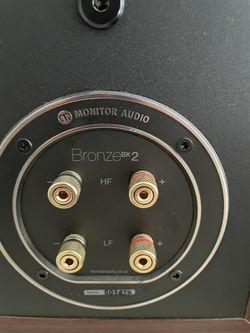 Marantz Stereo Receiver And Monitor Audio Speaker Set Up Thumbnail