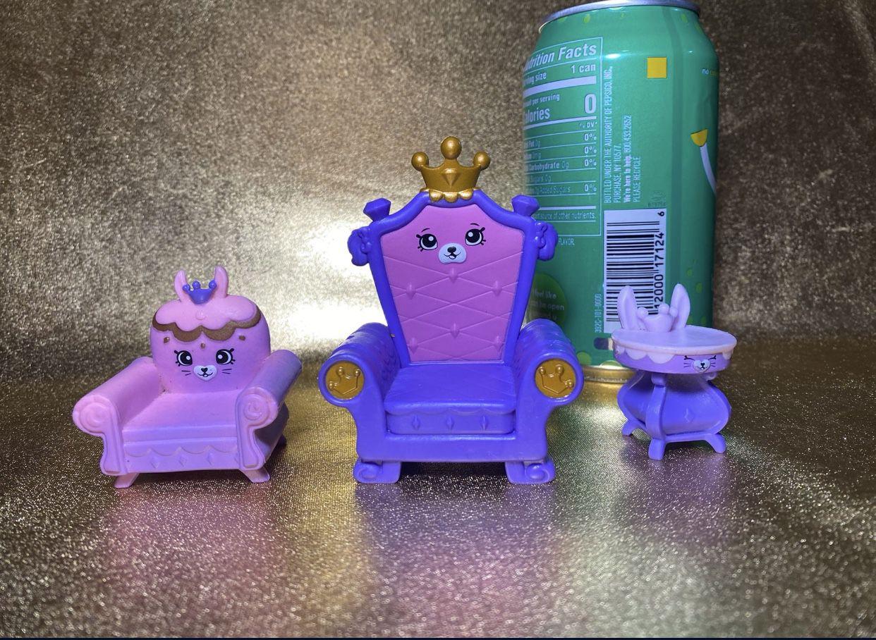 Shopkins Royal Palace Toys RARE