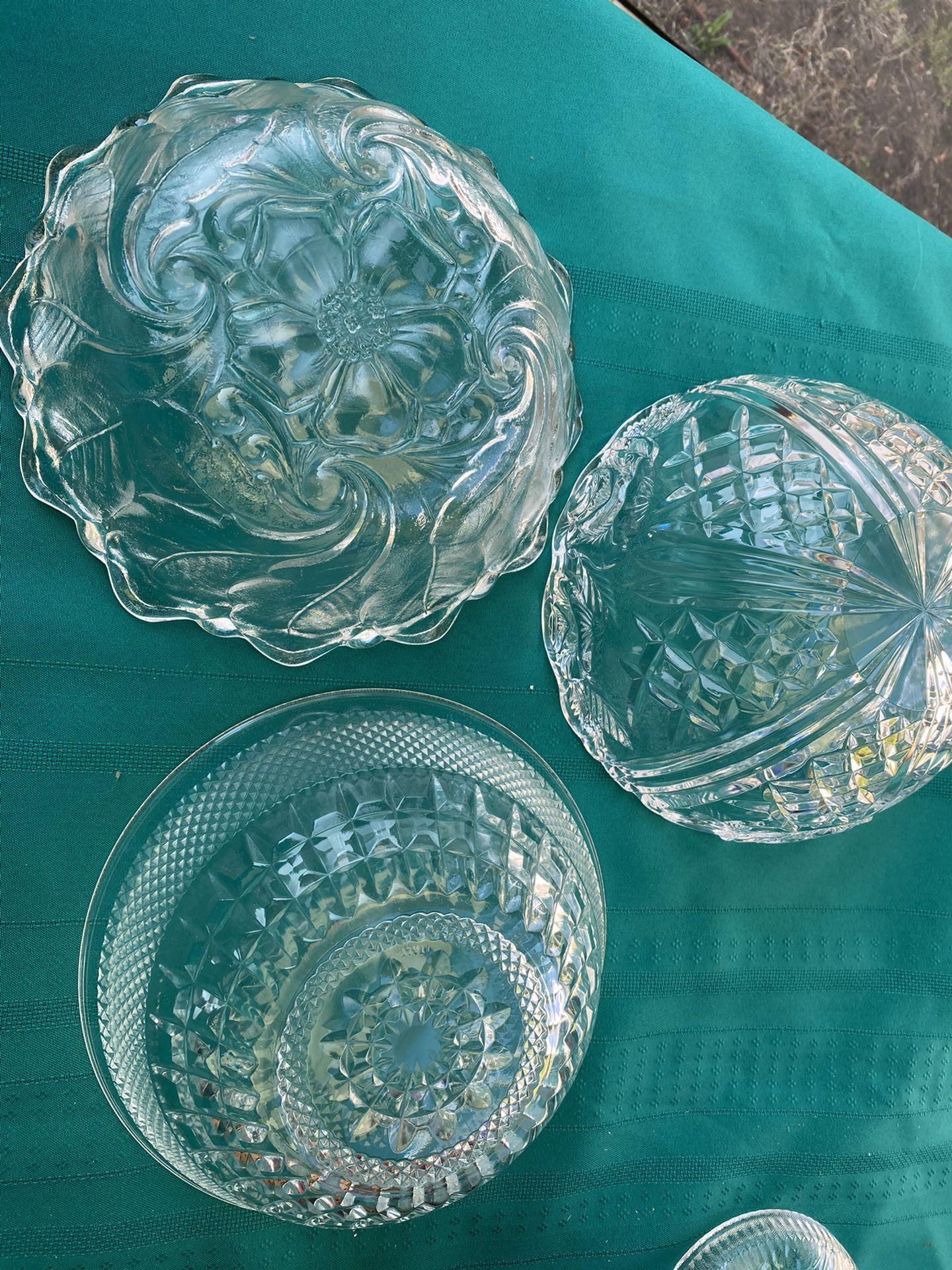 Beautiful Serving Glassware